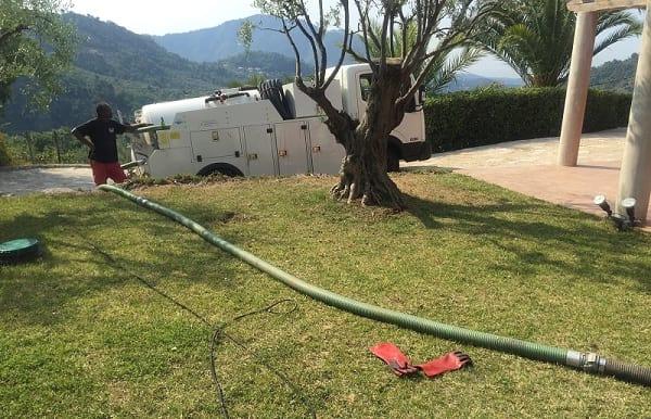 Vidangeur de fosse septique a Nice