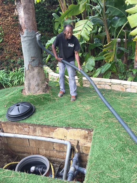 pompage de fosse septique